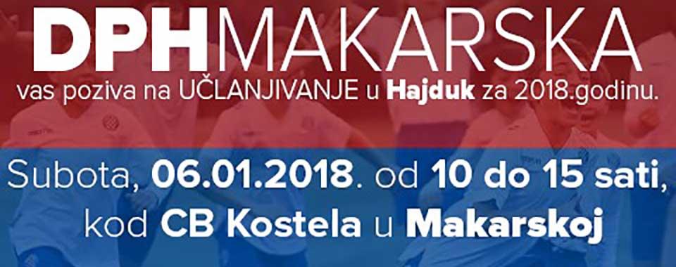 DPH Makarska učlanjivanje 2018.